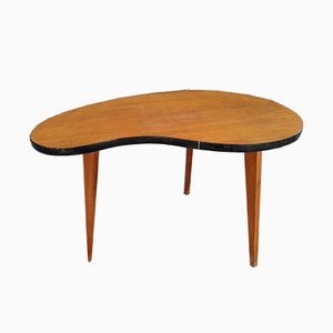 Tavolino a fagiolo vintage, anni '60