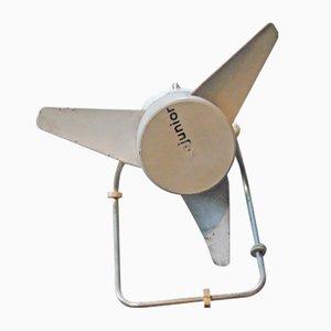 Ventilatore vintage industriale di Junior, anni '70