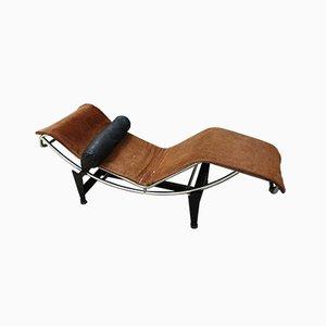 Modell LC4 Chaiselongue von Le Corbusier für Cassina, 1960er
