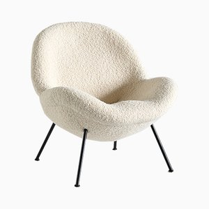 Egg Shaped Lounge Chair by Fritz Neth for Correcta, 1950s