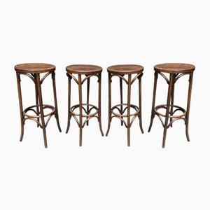 Sgabelli da bar, anni '50, set di 4