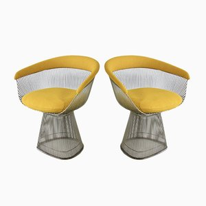 Armchairs by Warren Platner for Knoll Inc. / Knoll International, 1966, Set of 2