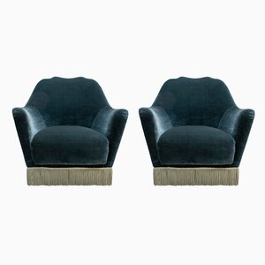 Mid-Century Modern Lounge Chairs by Gio Ponti for Casa e Giardino, 1950s, Set of 2