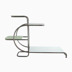 Bauhaus Style Etagere by Emile Guyot, 1940s