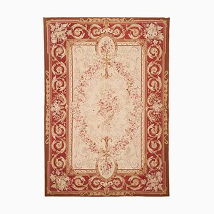 Red Hand Knotted Rug, 1972