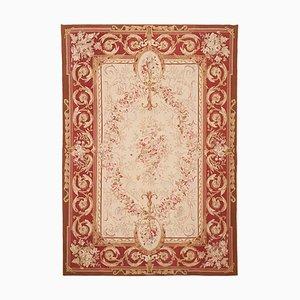Roter handgeknüpfter Teppich, 1972