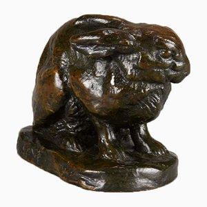 Antike Skulptur aus Bronze von Barye für F. Barbedienne