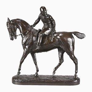 The Huntsman Skulptur von John Willis-Good, 1874