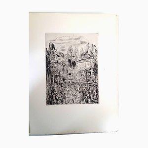 Grabado Montmartre's Party de Hermine David, 1927