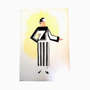 Farbpochoir von Sonia Delaunay, 1969