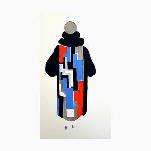 Pochoir Coloré par Sonia Delaunay, 1969