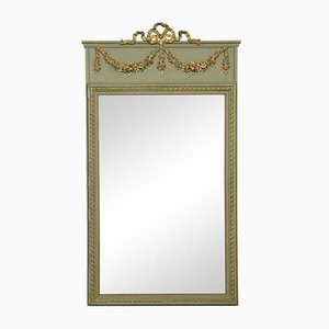 Antique French Painted Pier Mirror