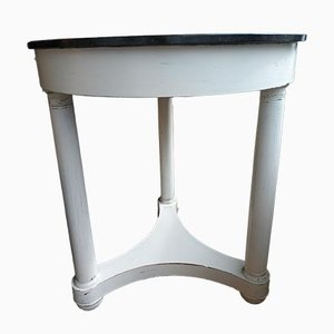 Antique Empire Pedestal Table