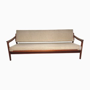 Danish Teak Daybed by Arne Wahl Iversen for Komfort, 1950s