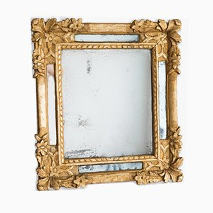 Antique Regency Style Gilded Wood Mirror