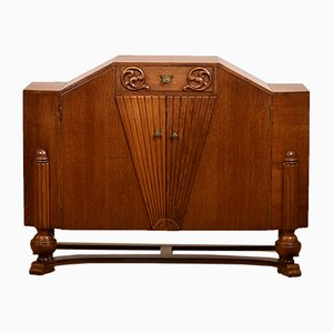 Golden Oak Sideboard, 1930s