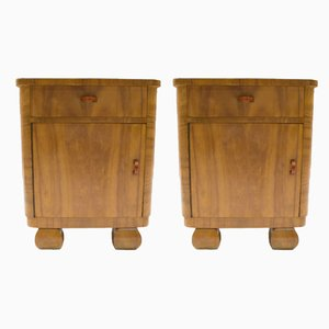 Vintage Austrian Night Stands, Set of 2