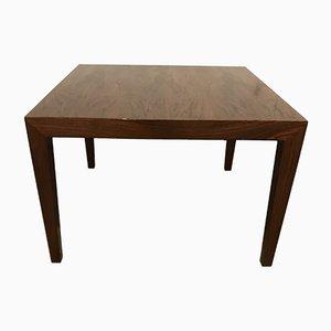 Table Basse Vintage en Palissandre par Severin Hansen pour Haslev Møbelsnedkeri, 1960s