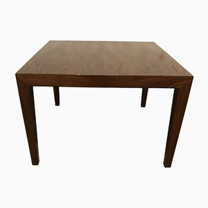 Vintage Rosewood Coffee Table by Severin Hansen for Haslev Møbelsnedkeri, 1960s