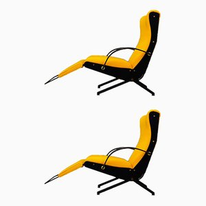 P40 Lounge Chairs by Osvaldo Borsani for Tecno, 1950s, Set of 2