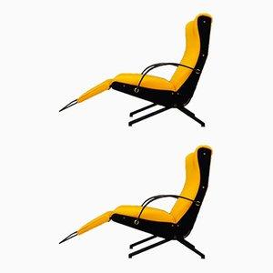 P40 Lounge Chairs by Osvaldo Borsani for Tecno, 1950s, Set of 2