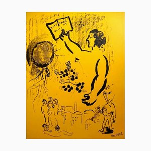 70 Years of Maiakovsky Poster by Marc Chagall, 1963