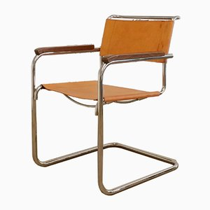 Vintage S34 Cantilever Armchair by Mart Stam for Thonet, 1980s