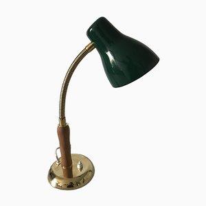 Schwedische Tischlampe aus Eiche & Stahl von Böhlmarks, 1940er