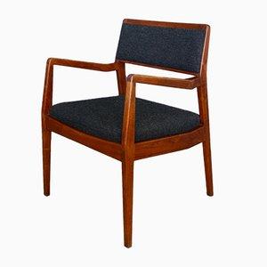 Chaise de Bureau Playboy C140 Mid-Century en Noyer par Jens Risom