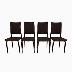 Italienische Mid-Century S81 Esszimmerstühle von Eugenio Gerli für Tecno, 4er Set