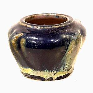 Kleine Vintage Art Déco Keramikvase