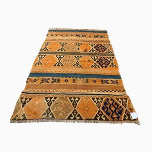 Vintage Turkish Kilim Rug, 1940s