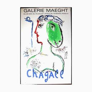 L'Artiste Phénix Poster by Marc Chagall, 1972