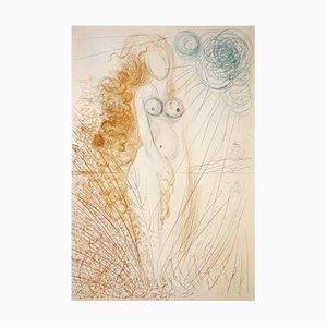 Acquaforte The Birth of Venus di Salvador Dali, 1971