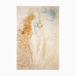 The Birth of Venus Etching by Salvador Dali, 1971