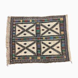 Alfombra Kilim turca vintage de lana, años 40