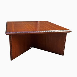 Coffee Table by Frank Lloyd Wright, 1950s