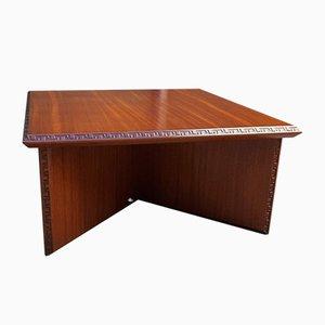Mesa de centro de Frank Lloyd Wright, años 50