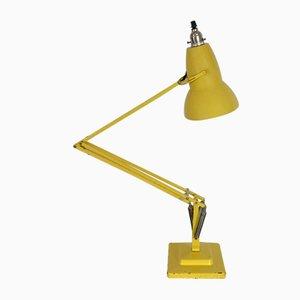 Lampada da tavolo in metallo giallo di George Carwardine per Herbert Terry & Sons, anni '60