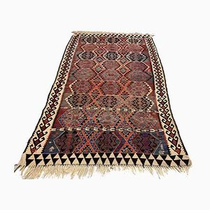 Vintage Turkish Wool Kilim Rug, 1950s