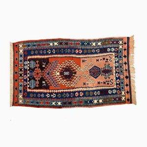 Türkischer Vintage Kelim Teppich, 1970er