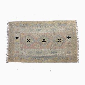 Vintage Turkish Wool Kilim Rug, 1980s