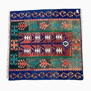 Alfombra Kilim turca vintage, años 60