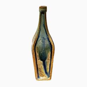 Jarrón Art Déco vintage pequeño de cerámica