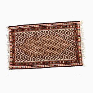 Türkischer Vintage Kelim Wollteppich, 1960er