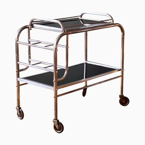 Art Deco Style French Bar Trolley, 1940s