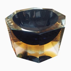 Murano Glass Ashtray from Somerso, 1950s