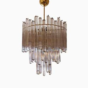Mid-Century Chandelier by Paolo Venini, 1950s