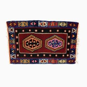 Alfombra Kilim turca vintage de lana, años 60