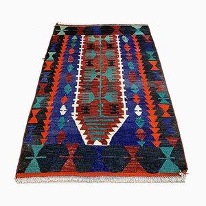 Kleiner türkischer Vintage Kelim Teppich, 1960er
